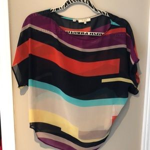 Guess Color Block Tee
